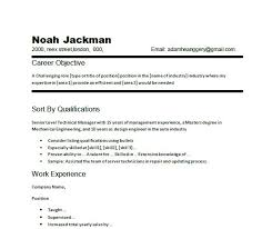 resume objective example how to write a resume objective in how to write a basic resume for a job basic resume objective samples