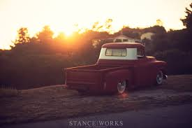 Stance Works - Adam's Rotors 57 Chevy Pickup