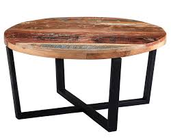 indian hub coastal reclaimed wood round