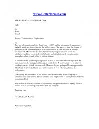 letter of termination printable documents letter of termination of