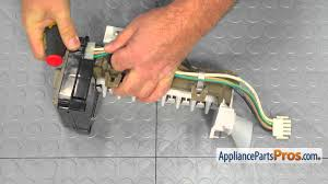 refrigerator ice maker wiring harness part wpd7813010 how to replace you