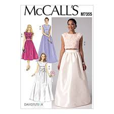 Mccall Patterns Fascinating Amazon McCall's Patterns M48 Misses' Crop Top And Gathered