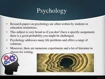 good psychology essay topics research papers in computer science good psychology essay topics