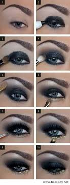 dark eye makeup tutorial step by step