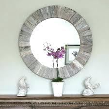 wood mirror barn wood mirror frame diy