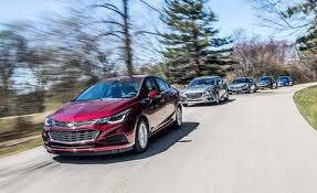 Chevy Cruze Comparison Chart We Test Five Compact Sedans To See Which Ones Make The Grade