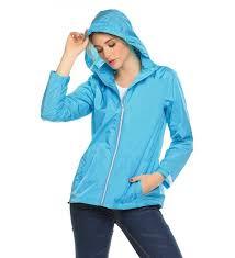 womens lightweight waterproof raincoat outdoor