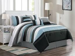 comforter curtain set beige black white