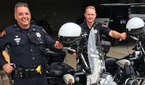 Police Officer Skills College Station Police Officers Place In Motorcycle Skills Challenge