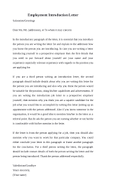 Introduction Letter Format For Company Introduction Choice Image