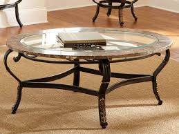 glass coffee table and end tables set