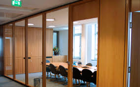 wooden office partitions. Making: Wooden Partition Works In Dubai Office Partitions