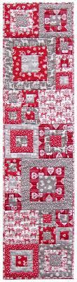 free pattern = Quilt Inspiration: Scandi Squares Christmas table ... & free pattern = Quilt Inspiration: Scandi Squares Christmas table runner Adamdwight.com