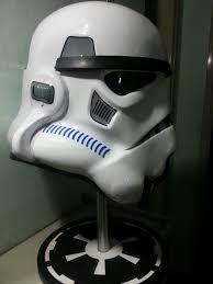 Stormtrooper Helmet Display Stand Gorgeous Stormtrooper Anh Stunt ATA Helmet With Custom Display Stand
