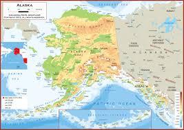 alaska physical state map new world  besttabletforme