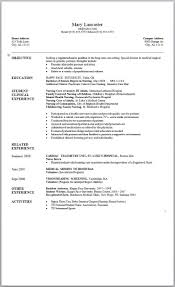 Resume Template Curriculum Vitae Word Formats Cv Samples Within