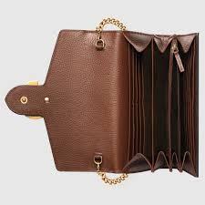 gucci marmont mini wallet chain bag