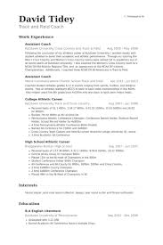 assistant coach resume samples basketball coach resume sample