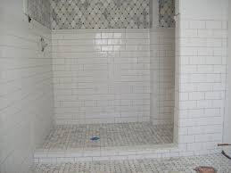 Floor And Decor Subway Tile Bathroom Engaging White Bathroom Decoration Using White Marble 51