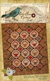 51 best Quilts - Shops and Shows images on Pinterest | Quilt shops ... & Wicker Wonder - Quilt from the Olde Green Cupboard - American Patchwork  Quilting TOP 10 Shop - 2004 Adamdwight.com