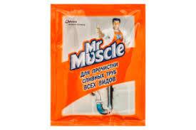 <b>Средство чистящее</b> д/труб <b>Мистер Мускул</b> 70г(4823002000177 ...