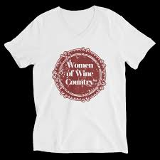 Bella Canvas 3005 Color Chart Women Of Wine Country Bella Canvas 3005 Unisex Short Sleeve V Neck Jersey Tee With Tear Away Label