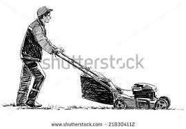 lawnmower drawing. lawnmower drawing i