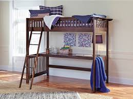 Ashley Furniture Youth Bedroom Strenton Twin Loft Bed with Desk