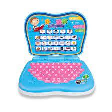 Bộ đồ chơi giáo dục kiểu dáng laptop cho trẻ em