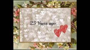 mom dad silver wedding anniversary invitation