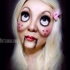 easy makeup creepy cute doll 中文字幕 lovin the creepy doll look