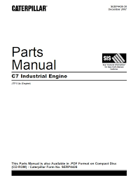 caterpillar c7 industrial engine parts manual pdf spare parts spare parts catalog caterpillar c7 industrial engine parts manual pdf