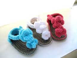Crochet Baby Sandals Pattern Awesome 48 Great Free Crochet Baby Sandals Pattern