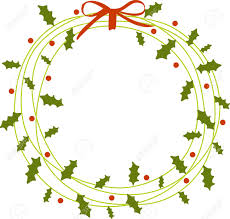 christmas front door clipart. Get In The Christmas Spirit By Hanging A Beautiful Wreath On Your Front Door Or Inside Clipart