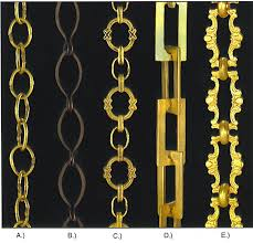 home quality lamp parts re casts of antique chains 6 foot