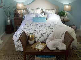coastal style bedroom uses natural textures and soothing hues design studio raynaud interiors
