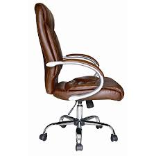 brown leather office chairs. Brown Faux Leather Luxury High Back Swivel Executive PC Office Chairs I