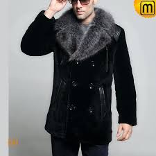 shearling fur coat men cw868007 jackets cwmalls com
