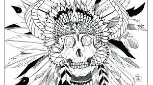 Free Native American Indian Coloring Pages Free Native Mandala G