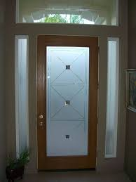 etched glass entry door windows frosted