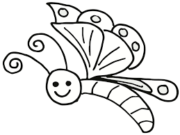 Coloring Pages Flowers Butterflies | Bebo Pandco