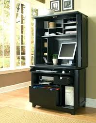 office armoire computer a useful furniture piece for small home office desk design ideas black shelves