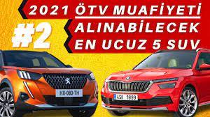 2021 ÖTV İndirimi ile Alınabilecek SUV Araçlar [Engelli Raporuyla ÖTV  Muafiyeti - 2] - YouTube