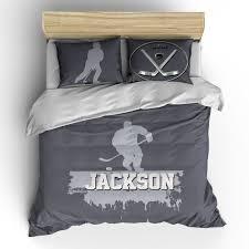 custom personalized hockey player
