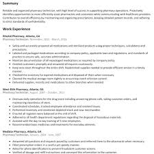 Pharmacy Technician Resume Sample Pharmacy Technician Resume Sample Resumelift within Examples Of 54