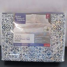 better homes and gardens sheets.  And Better Homes And Gardens 300 Thread Free Medallion Full Sheet SetBluewhite Inside And Sheets M
