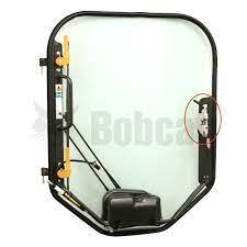 bobcat front door latch with sensor