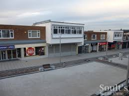 former woolworths newton aycliffe with improved public realm 5 jan 2016