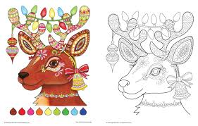 Image result for adult coloring pages finished christmas