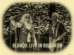 Blondie Long Time Charts Shot Blondie In Brighton Gary Marlowe Medium